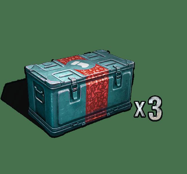 CHRISTMAS BOX X3